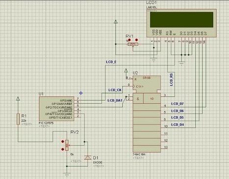 El blog de Moe: Voltimetro Con PIC 12F675 y LCD | Proyectos electrónicos Varios | Scoop.it
