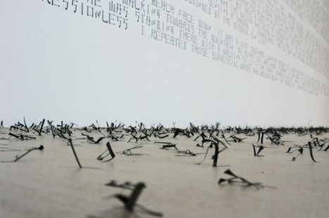 Ryo Shimizu: Cnjpus Text | Art Installations, Sculpture, Contemporary Art | Scoop.it