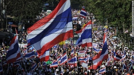 Thailand anti-government protesters continue effort to 'shut down' Bangkok | Current World Events | Scoop.it