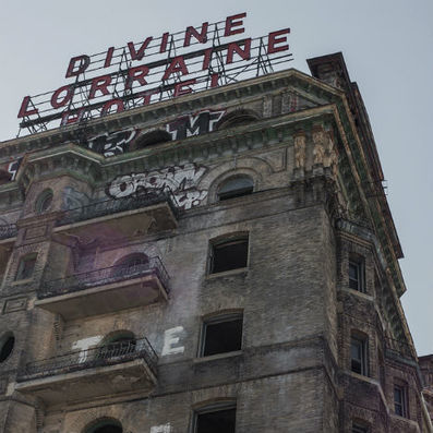 Abandoned Philadelphia: The Divine Lorraine Hotel | Modern Ruins, Decay and Urban Exploration | Scoop.it
