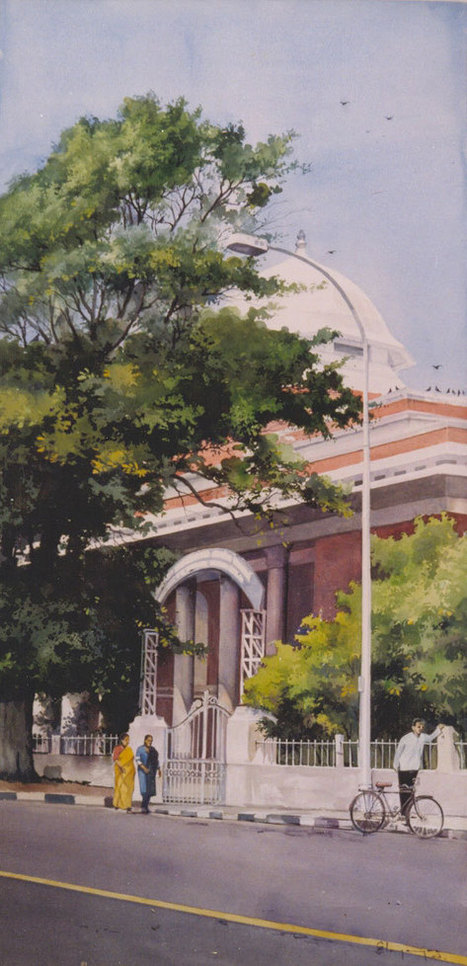 Awesome Water Color Painting Art by Elayaraja | Anand's World - The best part of the world. | The Good Life | Scoop.it