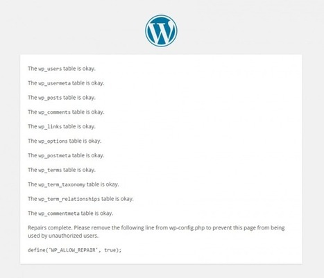 Optimizing Your WordPress Database – A Complete Guide   Smad IT - Development Things   Scoop.it