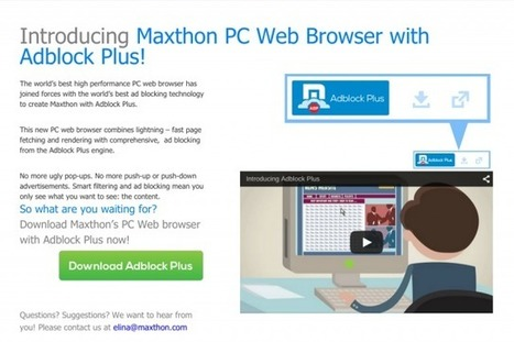 Hate ads, but love the Maxthon browser? Your dream has come true | Gardening | Scoop.it