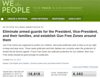 Petition Proposes Gun Free Zone for School President's Daughters Attend | MN News Hound | Scoop.it