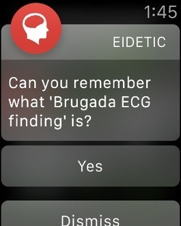 Memorizing medical content using Apple Watch and spaced repetition app | Salud Publica | Scoop.it