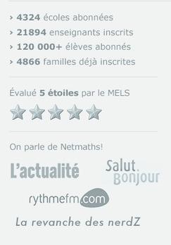 Netmaths - Ton cahier d'activités réinventé! | Activités en ligne pour l'école primaire | Scoop.it