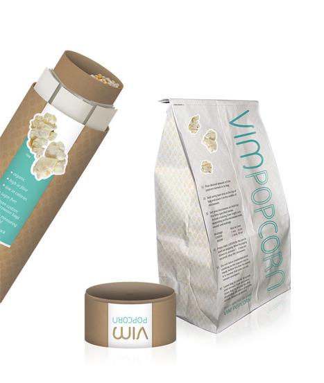 Vim Popcorn | Creative Package Design | Art, Design & Technology | Scoop.it