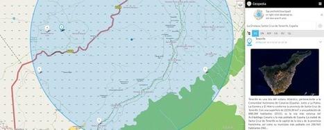 Crea y aprende con Laura: Geopedia: Mapas + Wikipedia | Educación, Tecnología e Innovaciones Pedagógicas | Scoop.it