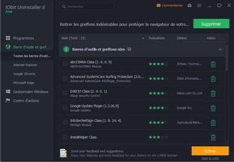 iObit Uninstaller 6 : pour en finir avec les applications récalcitrantes.   Nalaweb   Scoop.it