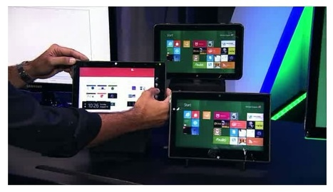 Microsoft demoes Windows 8 on Tegra 3 Tablet | Embedded Systems News | Scoop.it