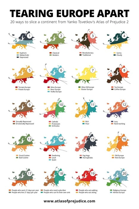 20 Ways Europe is Divided | Miscellaneous Topics | Scoop.it