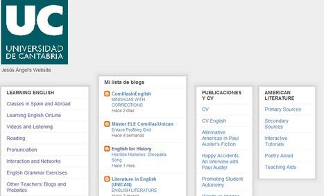 Jesús Ángel's Website | Learning English UC | Scoop.it