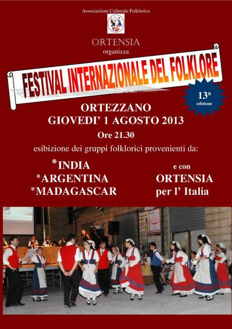 Ortezzano: tutto pronto per il 13° Festival Internazionale del Folklore   Le Marche un'altra Italia   Scoop.it
