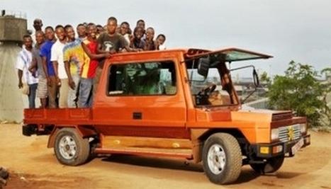 Made in Africa : Turtle, la voiture 100 % récup' | Vous avez dit Innovation ? | Scoop.it