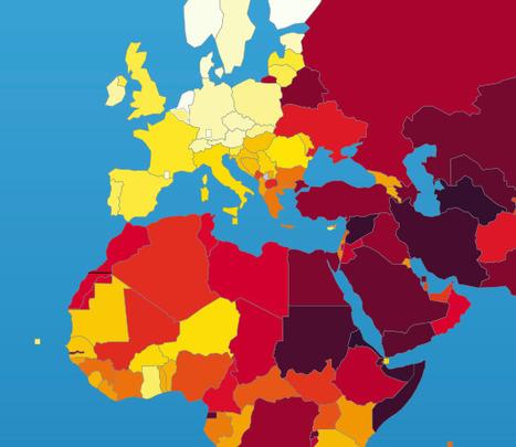 Classement mondial de la liberté de la presse 2014 | Journalisme innovant | Scoop.it