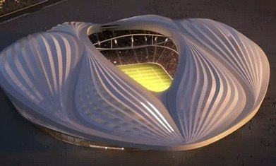 "Architect Zaha Hadid Fires Back at Critics of Her So-Called ""Vagina Stadium"" 