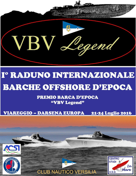 VBV Legend - First international gathering vintage boats offshore | Nautica-epoca | Scoop.it