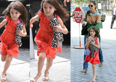 Katie Holmes reportedly spends 30,000 pounds on Suri's Xmas gifts ...   Christmas & Xmas gifts   Scoop.it