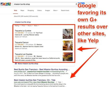 Yelp traffic could decline for the first time ever after Google changed its search algorithm | Interesting articles | Scoop.it