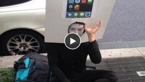 iPhone 6 : Un fan japonais fait la queue devant un AppleStore ... - Gentside | iphone 6 | Scoop.it