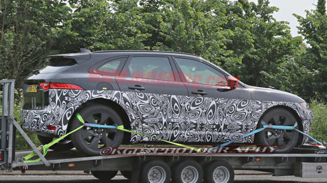 Jaguar J-Pace : un SUV supplémentaire pour l'Anglais | MonAutoNews | Scoop.it