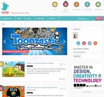 Educació i les TIC: 5 espais web imprescindibles plens d'Apps educatives | Recursos TIC per mestres i infants | Scoop.it