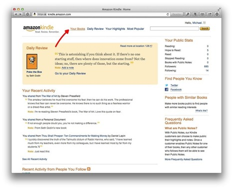 How to Get Your Kindle Highlights into Evernote | J'écris mon premier roman | Scoop.it