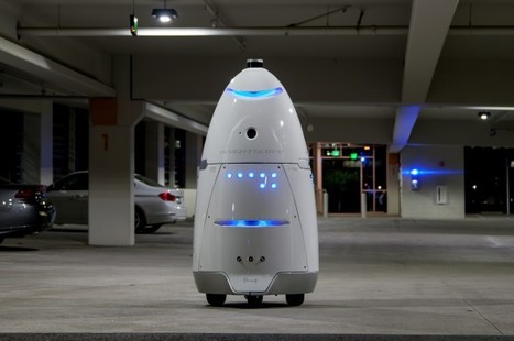 Robots Are Invading Malls (and Sidewalks) Near You | The Robot Times | Scoop.it