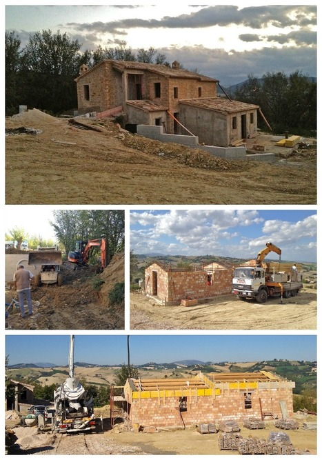 "Renovating a ""rustico"" in Le Marche: The plumber finally arrived 