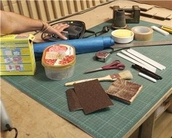 Créer un meuble en 12 étapes : le matériel | meubles et objets en carton | Scoop.it