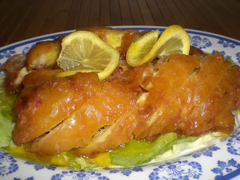 #Recipe - Lemon chicken Recipe  Chinese Food Recipes 中餐食谱   Food and Drinks   Scoop.it