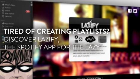 Tired of creating playlists in Spotify? | Mats Djärf | Scoop.it
