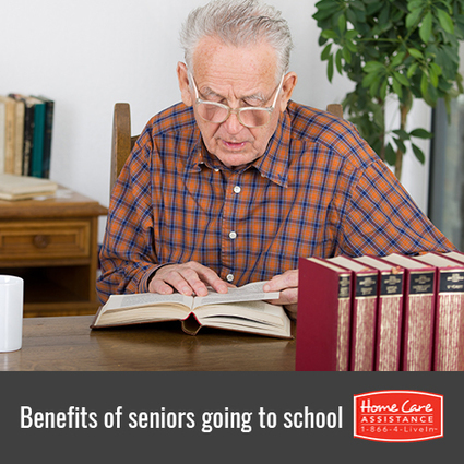 4 Reasons Seniors Should Go Back to School | Senior Home Care in Phoenix | Scoop.it