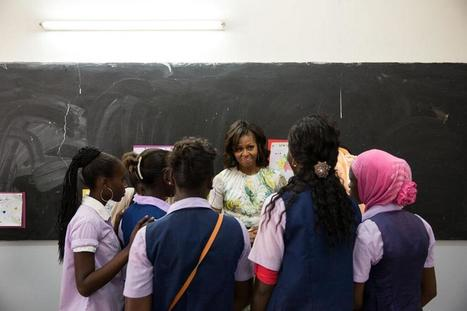 """Twitter / FLOTUS: """"When girls are educated, their ...   Girl's Education   Scoop.it"""