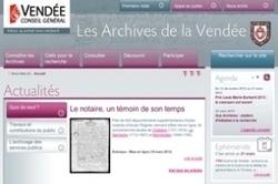 NotreFamille signe une nouvelle licence avec la Vendée | Rhit Genealogie | Scoop.it