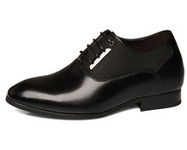 Black / Brown Men Height Inceasing Dress Shoes with taller 7cm / 2.75inch | Elevator shoes for men | Scoop.it