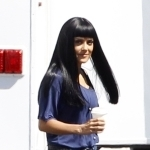 Salma Hayek Wigs Out! (PHOTOS) - Celebuzz | Hair There and Everywhere | Scoop.it