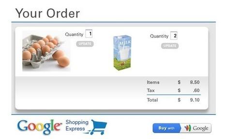 Google teste son service de livraison | Ecommerce, places de marchés et comparateurs de prix | Scoop.it