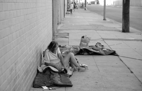 The People Down on Skid Row ~ Photo Essay by Tom Andrews - L.A. TACO | stFOTO | Scoop.it