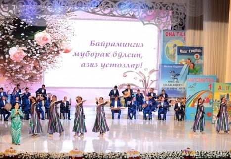 Uzbekistan commemorates the Day of Appreciation of Teachers and Mentors on October 1. Congratulations! | CENTRAL ASIAN RE.SOURCES | Scoop.it