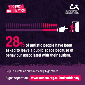 Sign the petition for an autism-friendly high street | Welfare, Disability, Politics and People's Right's | Scoop.it