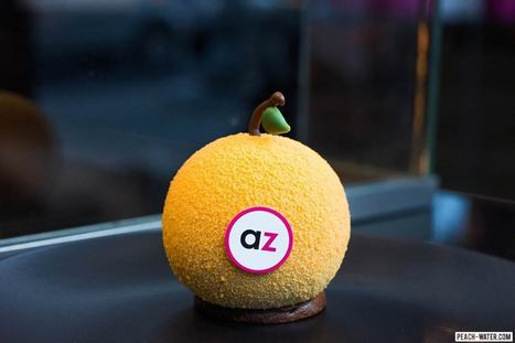 Adriano Zumbo Pâtissier | Peach Water | agro alimentaire | Scoop.it