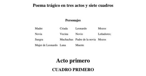 Lorca Bodas de sangre.pdf | Educacion, ecologia y TIC | Scoop.it