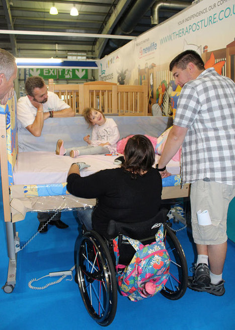 Parents and children living with disability discover life-changing  Theraposture adjustable cots and beds at Kidz Scotland | Disability and Mobility | Scoop.it