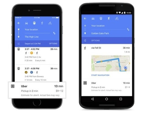 Google Maps Adds New Features and Brighter Colors | Marketing Done Right | Scoop.it