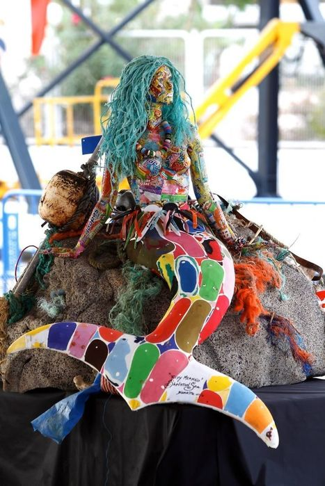13 Giant Sculptures Made Entirely Of Beach Waste To Make You Reconsider Plastic Use | Marine Litter | Scoop.it