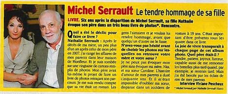 """Télé 7 jours - Michel Serrault par Nathalie Serrault: """"Un très beau livre de photos""""   Nathalie Serrault   Scoop.it"""