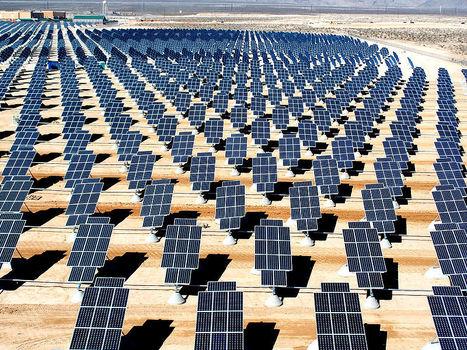 Les centrales photovoltaïques à concentration s'installent dans le désert | Economie Responsable et Consommation Collaborative | Scoop.it