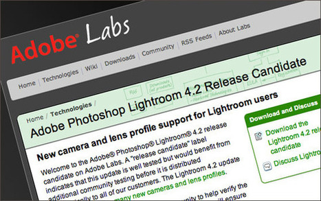 What Does The Latest Lightroom 4.2 Release Candidate Mean For You « « Adobe Photoshop Lightroom Killer Tips Adobe Photoshop Lightroom Killer Tips | Adobe Lightroom & Photoshop | Scoop.it