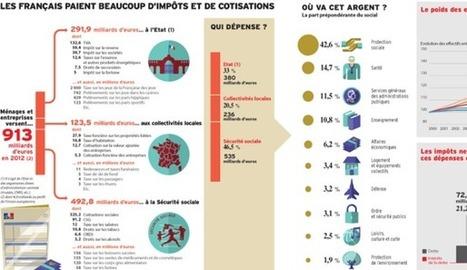 INFOGRAPHIE. Impôts: qui paie... et pour faire quoi? | Lygier | Scoop.it